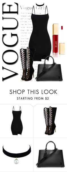 """""""The world is a vampire"""" by maddy0428 on Polyvore featuring WithChic and Louis Vuitton"""