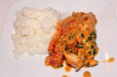 Recettes Faciles & Rapides: Poulet au curry thaï et beurre de cacahuète