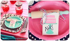 Paris Bake Shop Party - TONS of helpful links, ideas and printables and a SUPER CUTE party!