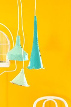 How To Make Paper Mache Pendant Lights — Apartment Therapy Tutorials | Apartment Therapy