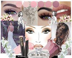 Matilda Larsens mooadbord för bröllops makeup på cecilie