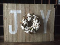 JOY - DIY Home Decor wood pallet projects featuring Jillibean Soup Mix the Media wood plank surfaces
