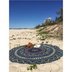 Star Mandala Bohemian Purple Psychedelic Beach Throw Wall Hanging – TheNanoDesigns