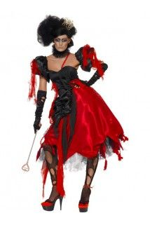 Déguisement reine de coeur femme halloween