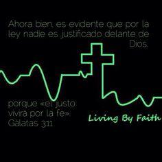 Gálatas 3:11 #ByFaith #Redeemed #LikeAbraham #JesusPromise Words, Dios, Horse
