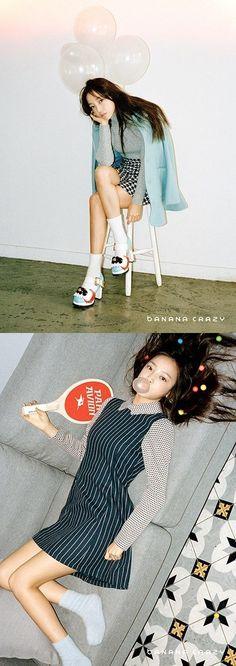 Hara shows off her slim figure for 'Banana Crazy' | allkpop.com