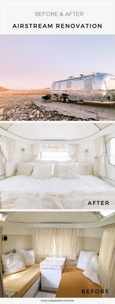 RV renovation ideas here - Shop The Airstream : Go where you're towed to Airstream Bambi For Sale, Airstream Trailers For Sale, Airstream Living, Airstream Campers, Airstream Remodel, Airstream Renovation, Vintage Airstream, Rv Trailers, Travel Trailers