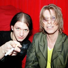 Brian Molko and Bowie See this Instagram photo by @belgrade2bowie • 15 likes
