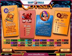 Greatest Odyssey free #slot_machine #game presented by www.Slotozilla.com - World's biggest source of #free_slots where you can play slots for fun, free of charge, instantly online (no download or registration required) . So, spin some reels at Slotozilla! Greatest Odyssey slots direct link: http://www.slotozilla.com/free-slots/greatest-odyssey