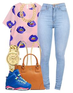 """""""august 16 2k14"""" by xo-beauty ❤ liked on Polyvore featuring Stührling, Roberta Chiarella, Tory Burch, 10 Bells, NIKE, women's clothing, women, female, woman and misses"""
