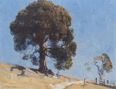 View SHEOAK By Arthur Streeton; oil on canvas; x cm; Access more artwork lots and estimated & realized auction prices on MutualArt. Australian Painting, Australian Artists, Local Artists, Landscape Paintings, Landscapes, Traditional Art, Impressionism, Art Lessons, Painting & Drawing