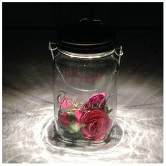 Solar Gartenleuchte Geschenktipp 2-farbige Solarlampe im Einmachglas
