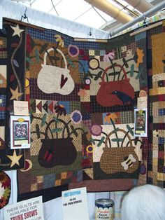 May Baskets Quilt Pattern by heartsinstitches on Etsy