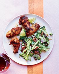 Food & Wine's grilled chicken wings recipe is the perfect summer cookout dish.