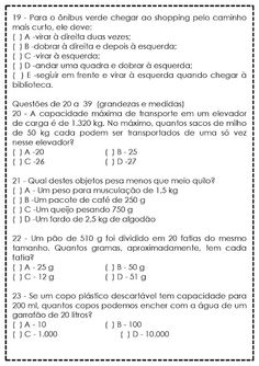 Atividades de Matemática para 5º Ano - Reforço - SÓ ESCOLA Classroom Management Tips, Professor, Sheet Music, Math Equations, Education, Interactive Activities, Reading Assessment, Teaching Math, Secondary School