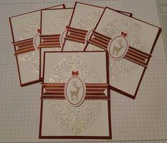 Holiday Frame - Regional Swap cards by DeborahS - Cards and Paper Crafts at Splitcoaststampers