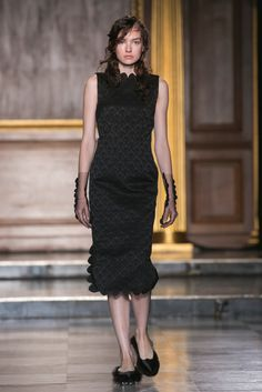 A look from the Simone Rocha Spring 2015 RTW collection.