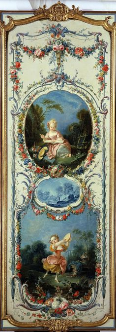 FRANCOIS BOUCHER. Аллегория Пения и Танца (1750-1752)