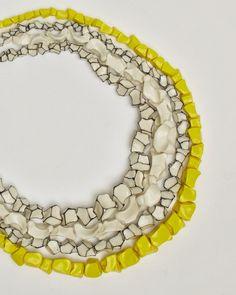 Manon van Kouswijk - White Heat: ceramic jewellery