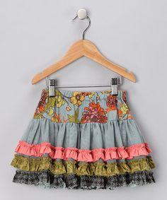 Green Jess Circle Skirt - Infant, Toddler & Girls