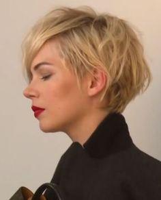Nuovo Taglio di capelli medio corto Michelle Williams 2014