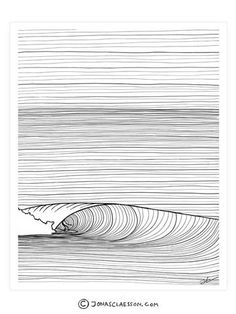 Groundswell Black & White Art Print