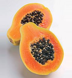 """4 Foods that Fight Bloat:  1)  Papaya (Mix into plain organic yogurt for breakfast.)  2) Oatmeal (For dessert, you can use oatmeal in your pie crust.)  3) Yogurt (organic & plain with """"active cultures"""", steer clear of anything with """"fruit on the bottom"""".)  4) Asparagus (flushes waste and excess water from your body.)    Happy Eating!"""