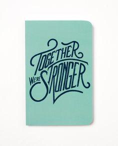 Together We're Stronger Denik Journal (Blank)