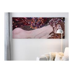 PJÄTTERYD Picture IKEA Motif created by Gustav Klimt. The picture has extra depth and life because it's printed on high quality canvas.