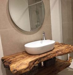 44 The Best Rustic Small Bathroom Ideas With Wooden Decor – Architecture Designs – Diy Bathroom İdeas Bad Inspiration, Bathroom Inspiration, Bathroom Ideas, Earthy Bathroom, Bathroom Renovations, Shower Ideas, Bathroom Plans, Bathroom Makeovers, Bathroom Trends
