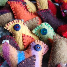 felted (?)