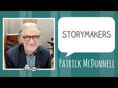 StoryMakers interviews author  Patrick McDonnell - KidLit.TV