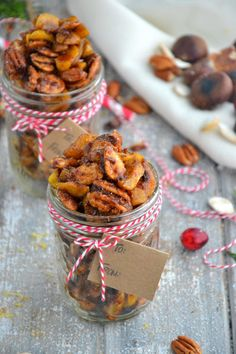 Homemade Sugar-Free Spiced Chestnuts Holiday Gift...hopefully easier than roasting the darn things over an open fire!