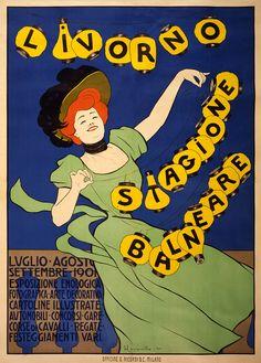 Livorno_stagione_balneare,_poster_di_Leonetto_Cappiello,_1901