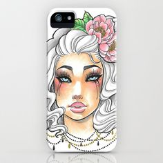 The White Princess iPhone & iPod Case by Little Lost Forest - $35.00