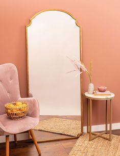 Full Length Mirror In Bedroom, Floor Length Mirrors, Full Length Mirror Gold, Full Mirror, Gold Floor Mirror, Gold Mirrors, Floor Mirrors, Gold Framed Mirror, Bedroom Corner