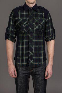 Second Sunday Campbel Plaid Woven Shirt