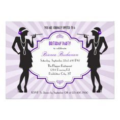 invitations for putting on the ritz golf party - Google Search
