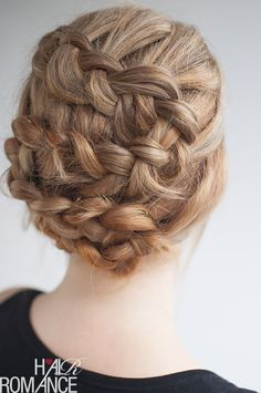 The Twist Tuck Braid | 31 Gorgeous Wedding Hairstyles You Can Actually Do Yourself