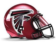 Atlanta Falcons Concept Helmet