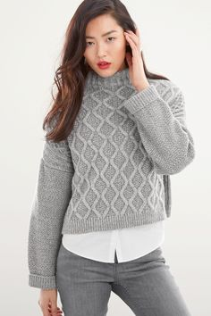 Buy Next Cable Cropped Sweater | Shop Tops Womenswear at the BrandStore EziBuy AU