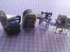 Minature Magnets of Vintage Household Items by TraysVintageTreats