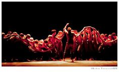 """A superb interpretation by the English National Ballet at the Festival de Peralada which perfomed an outstanding """"Dust"""" (in the image), choreographed by Akram Khan, in commemoration of the 100 years since the beginning of WW I. Ballet, English, Dance, Concert, Image, Dancing, Recital, Dance Ballet, English Language"""