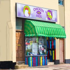 Chicken and Frog Bookshop in Brentwood