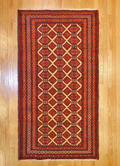 Balouch Turkman Tribal Rug TAN80022082 Iran