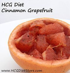 Grapefruit is one of the best HCG fruit options for fast weight loss on the HCG Diet... make this HCG recipe to keep losing the pounds! http://hcgdietstore.com/