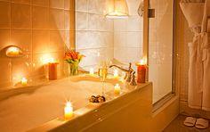 Romantic Bubble Bath | Romantic Bubble bath at Magnolia Hotel Victoria, BC