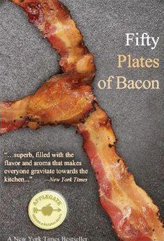 """my kind of book...""""He laid the thick bacon on the steaming skillet; sizzles surrounded the kitchen. The sensual aroma of the bacon filled the house, and he shuddered as his stomach growled.""""    I LOVE BACON!"""
