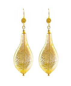 Beautiful 'Athena'  Murano Blown Glass Earrings! Find them in Etsy at the Ilios Shop.