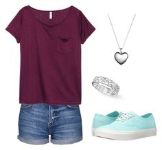 """""""Untitled #108"""" by tare-bear ❤ liked on Polyvore featuring Topshop, H&M, Pandora and Vans"""